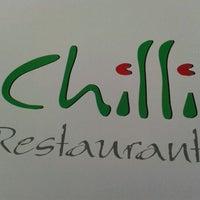 Photo taken at Chilli Restaurant by Matej M. on 4/15/2012