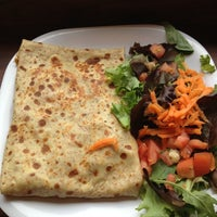 Photo taken at Brooklyn Crepe & Juice by Hilary S. on 5/16/2012