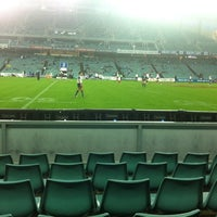 Photo taken at Allianz Stadium by David H. on 3/17/2012