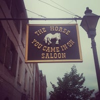 Photo taken at The Horse You Came In On Saloon by Carrie G. on 7/14/2012