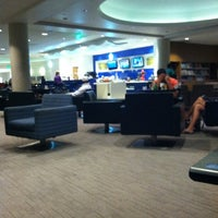 Photo taken at Delta Sky Club by Ted A. on 9/7/2012