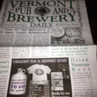Photo taken at Vermont Pub & Brewery by Denise D. on 3/26/2012