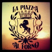 Photo taken at La Piazza al Forno by Jerome T. on 5/11/2012