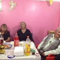 Photo taken at Taqueria La Morena de los Mixes by Claudia on 7/12/2012