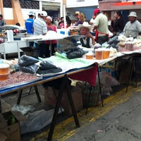 Photo taken at Mercado De Antojitos by Crisho Z. on 3/4/2012