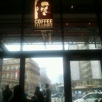 Photo taken at Coffee Fellows by Vladimir D. on 3/10/2012