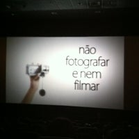 Photo taken at Cinema Piracicaba by Leandro T. on 2/23/2012