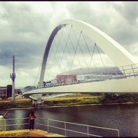 Photo taken at Pedestrian Bridge by Nina on 7/15/2012