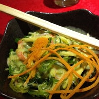 Photo taken at Ootoya Noodle & Sushi Bar by Carolina A. on 7/23/2012