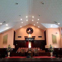 Photo taken at Ebenezer Baptist Church by Michael J. on 6/7/2012