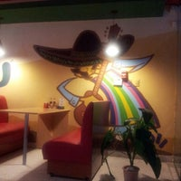 Photo taken at Crazy Tacos - Mexican Food by Kano on 5/25/2012