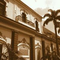 Photo taken at Palacio de Miraflores by Sergio D. on 3/17/2012