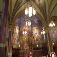Photo taken at Cathedral of the Madeleine by Laraine K. on 5/23/2012