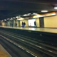 Photo taken at Metro Puente Cal y Canto by Rodrigo C. on 5/22/2012