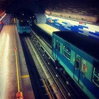Photo taken at Metro Pudahuel by Jaime H. on 8/7/2012