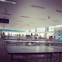 Photo taken at KU Cafeteria 1 by bookiko n. on 8/18/2012