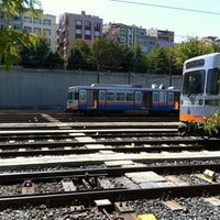 Photo taken at Esenler Metro İstasyonu by Enez on 8/23/2012