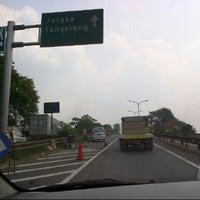 Photo taken at Exit tol curug / bitung by Nengah S. on 7/30/2012
