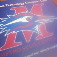 Photo taken at Metropolitan State University of Denver by Kristy on 9/6/2012