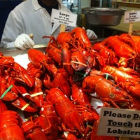 Photo taken at Lobster Place by sooz b. on 5/13/2012