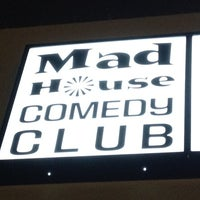 Photo taken at Mad House Comedy Club by Chris T. on 2/14/2012