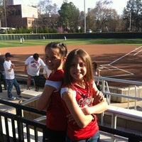 Photo taken at Shirley Clements Mewborn Field by Donna L. on 3/14/2012