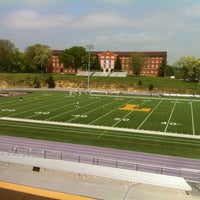 Photo taken at The Rock Bowl @ Loras College by Jim N. on 5/5/2012