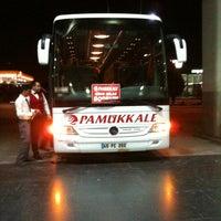Photo taken at Pamukkale Turizm by ilkay O. on 4/5/2012