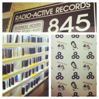 Photo taken at Radio Active Records by Zak  M. on 4/21/2012