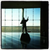 Photo taken at Rick Husband Amarillo International Airport (AMA) by Andy on 2/8/2012
