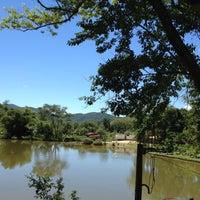 Photo taken at Pousada Gamboa Eco-refúgio by Ale Felix on 3/9/2012