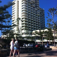 Photo taken at Scarborough Beach by Sophie B. on 9/8/2012