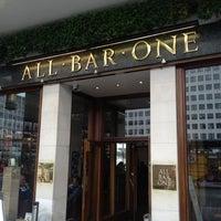 Photo taken at All Bar One by Erik M. on 5/19/2012