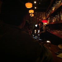 Photo taken at BAR ATOMIC AGE by Ikkei H. on 3/31/2012