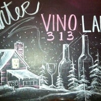 Photo taken at Vino 313 by Justin P. on 2/13/2012
