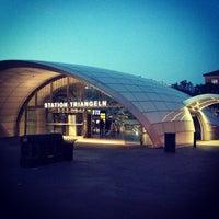 Photo taken at Station Triangeln (J) by Tanya K. on 7/27/2012