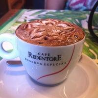 Photo taken at Laranja Café by Pillar B. on 8/7/2012