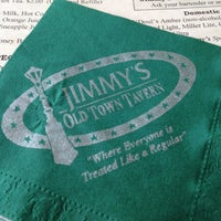 Photo taken at Jimmy's Old Town Tavern by Elizabeth H. on 5/26/2012