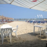Photo taken at Villa Rosa - Bar Beach & Restaurant by Ilaria B. on 9/7/2012