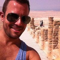 Photo taken at Masada by Eleazar S. on 7/25/2012