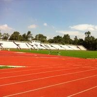 Photo taken at Estadio Wilfrido Massieu by Ernesto S. on 7/20/2012