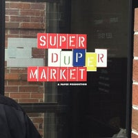 Photo taken at SUPER(DUPER)MARKET by Mohammed K. on 7/15/2012