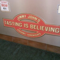 Photo taken at Jimmy John's by Mike D. on 6/17/2012