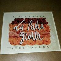 Photo taken at La Pasta Gialla by Daniel G. on 9/1/2012