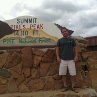 Photo taken at Pikes Peak by Matthew S. on 6/3/2012