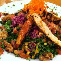 Photo taken at Veggie Grill by Jen on 5/17/2012