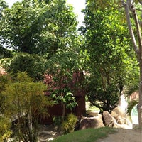 Photo taken at Bounty Resort Koh Phangan by Sanyaluk A. on 2/12/2012