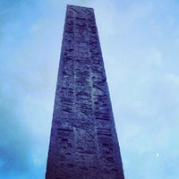 Photo taken at The Obelisk (Cleopatra's Needle) by Mannix t. on 5/28/2012