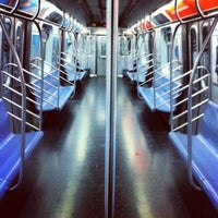 Photo taken at MTA Subway - L Train by Paul T. on 5/11/2012