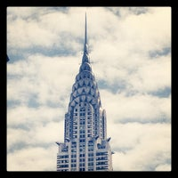 Photo taken at Chrysler Building by Fabio F. on 4/30/2012